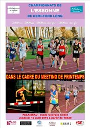 IMPORTANT: Championnats de l'ESSONNE de Demi-Fond Long C/J/E/S et Meeting de Printemps